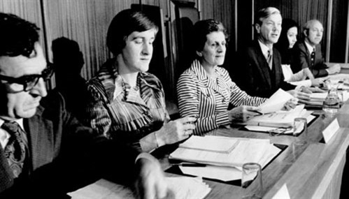 The Royal Commission on Contraception, Sterilisation and Abortion sat from June 1975 to March 1977. Source: Alexander Turnbull Library.