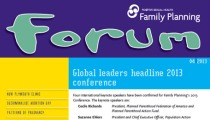 Cover of April 2013 Forum