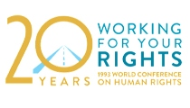 Logo for 1993 World Conference on Human Rights