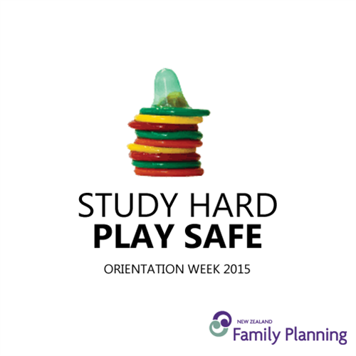 Our theme for O Week was Study Hard Play Safe.